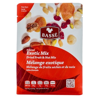 Basse Selected Exotic Mix Dried Fruit & Nut Mix (7-ounce Bag)