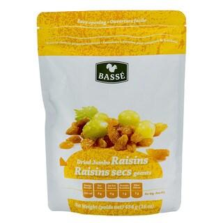 Basse Dried Fruits Jumbo Raisins (1-pound Bag)