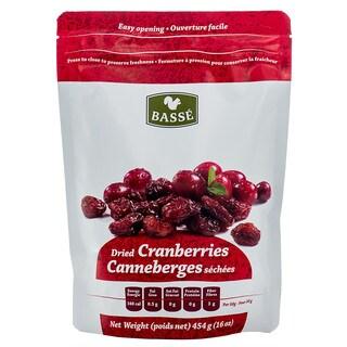 Basse 1-pound Dried Cranberries