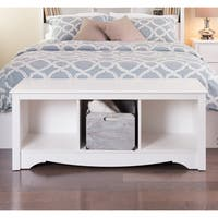 The Gray Barn Waggoner Three Cubby Storage Bench