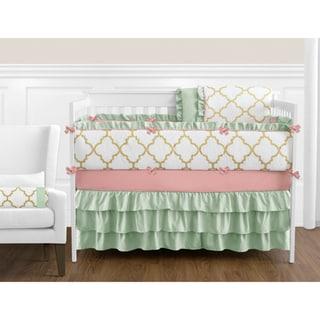 Shop Sweet Jojo Designs Soho Blue 9 Piece Crib Bedding Set
