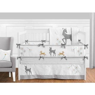 Sweet Jojo Designs Forest Deer Collection 9-piece Crib Bedding Set