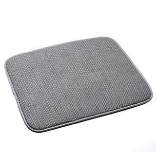 Norpro 359G Grey Microfiber 16-inch x 18-inch Durable Dish-drying Machine-washable Mat