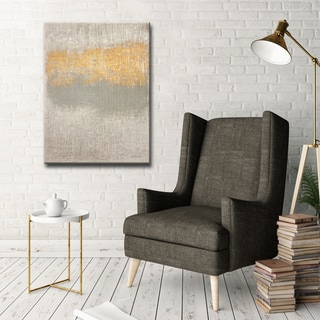 Soft Whisper' by Norman Wyatt, Jr. Abstract Wrapped Canvas Wall Art