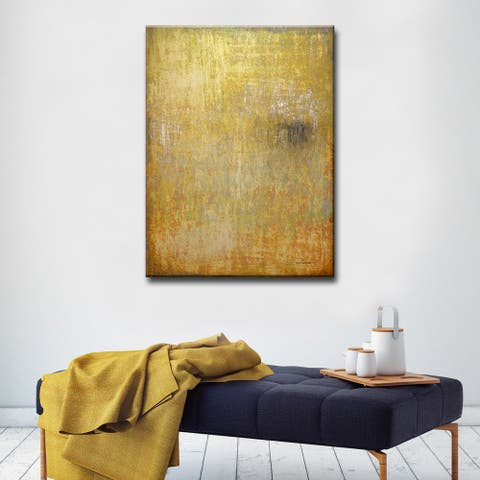 Moment in Time' by Norman Wyatt, Jr. Abstract Wrapped Canvas Wall Art