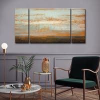 Ready2HangArt 3 Piece Wall Art Set (30 x 60) 'Desert Flats' by Norman Wyatt, Jr.