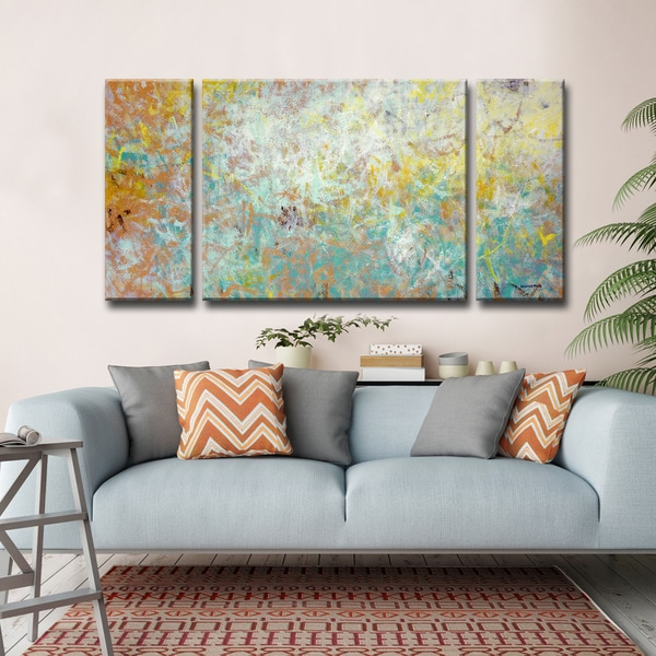 Uplifted' by Norman Wyatt, Jr. 3-Piece Wrapped Canvas Wall Art Set