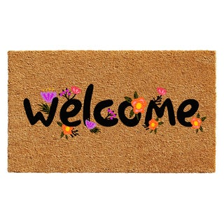 Spring Welcome Doormat