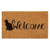 Feline Welcome Doormat