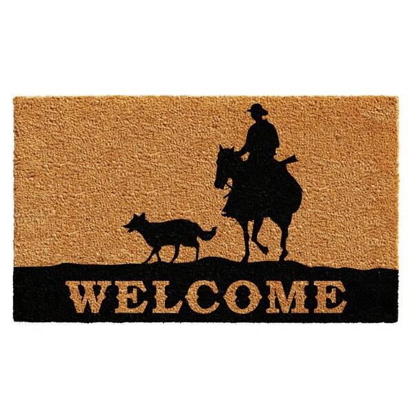 Rancher Welcome Doormat