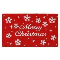 Christmas Stars Doormat