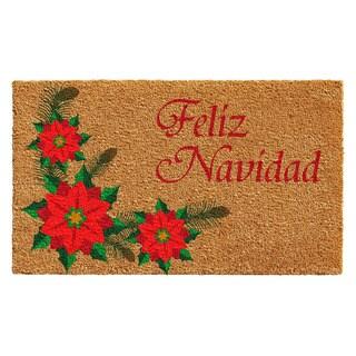 Feliz Navidad Doormat