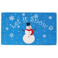 Let it Snow Doormat