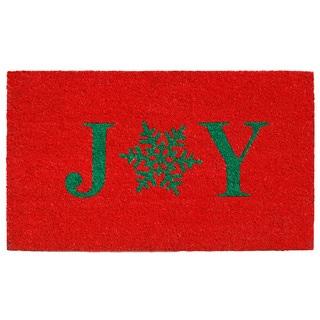 Snowflake Joy Doormat