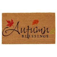 Autumn Blessings Doormat