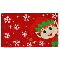 Christmas Elf Doormat