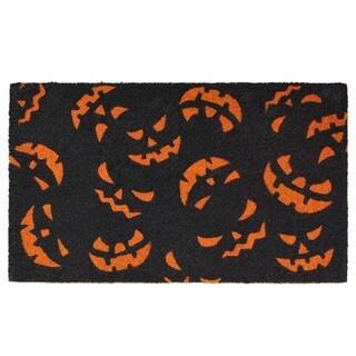 Scary Pumpkins Doormat