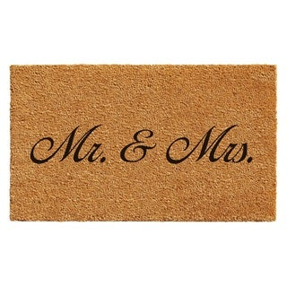 Mr. and Mrs. Doormat