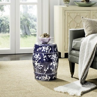 Safavieh Midnight Kiss Blue Garden Stool