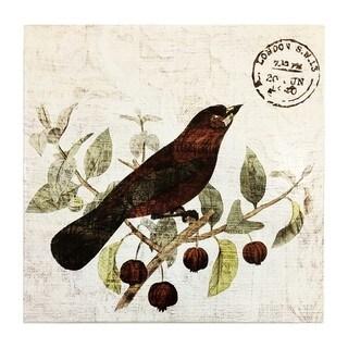 """""""Bird in the Tree II"""" Art Plaque"""
