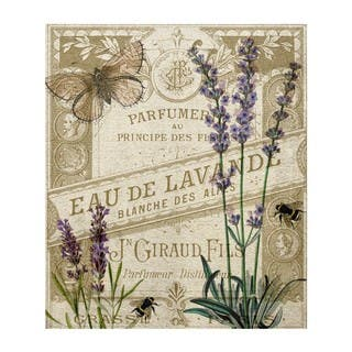 """Smell of Lavender"" Art Plaque