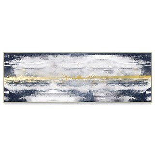 Wynwood Studio 'Dancing in the Night' Gold Foil Art on Canvas