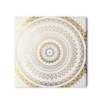 Wynwood Studio 'Clear My Mind' Gold Foil Art Plaque