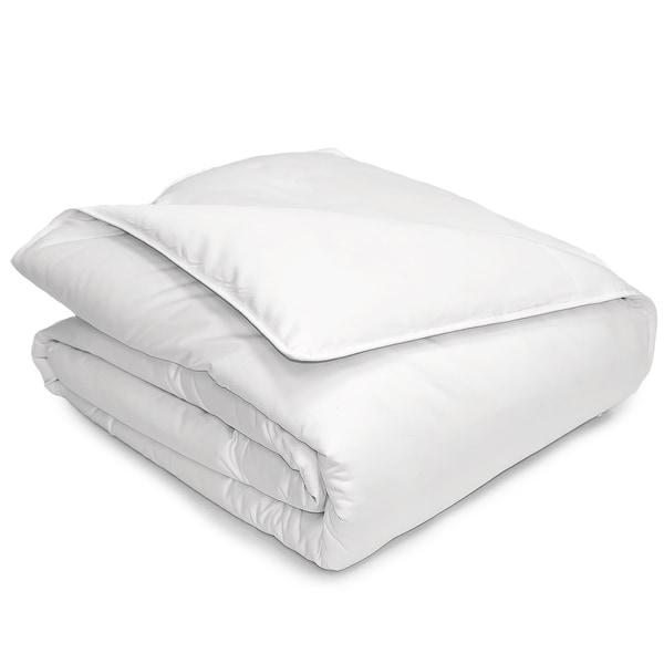 Hotel Grand 400 Thread Count Pima Cotton Oversized White Down Comforter