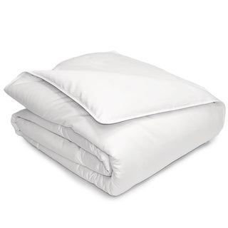 Hotel Grand 400 Thread Count Pima Cotton Oversized White Down Comforter