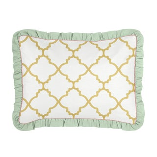 Standard Pillow Sham for the Ava Collection by Sweet Jojo Designs