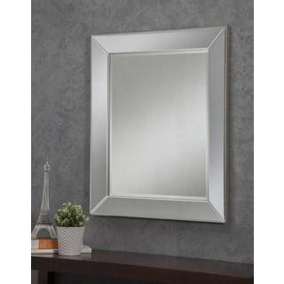 Sandberg Furniture Mirror on Mirror 36 x 30-inch Wall Mirror