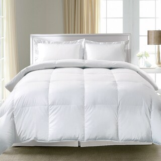 Hotel Grand 300 Thread Count Oversized White Down And Feather Comforter