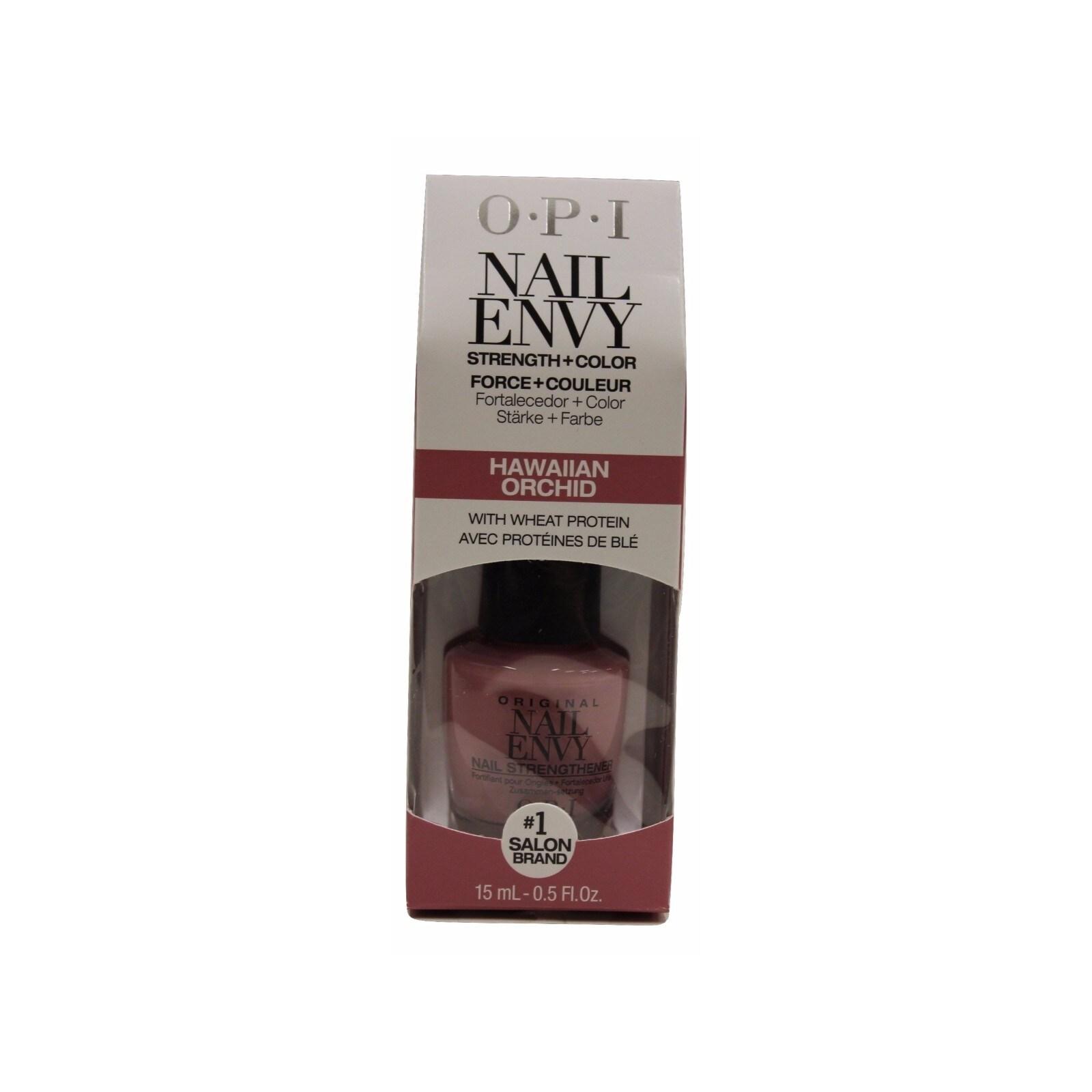 OPI Nail Envy Hawaiian Orchid Nail Lacquer (.5-ounce), Pu...