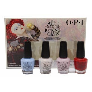 OPI Nail Lacquer Brights Alice 4-piece Mini Pack