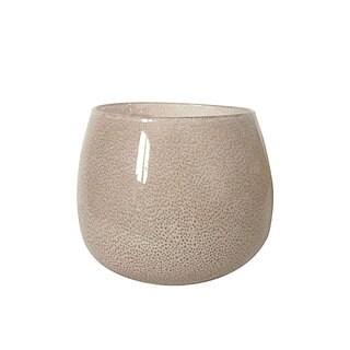 Heraclea Glass 7.8 x 6.3 Decorative Vase