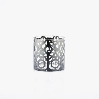 Abstract Geometric on Cylinder Candleholder