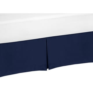 Sweet Jojo Designs Whale Collection Bed Skirt