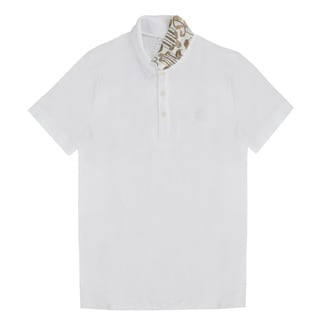 Versace Collection Men's White Cotton Polo T-shirt