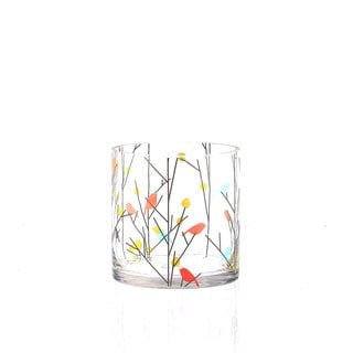Fine Art Bird and Floral Candleholder