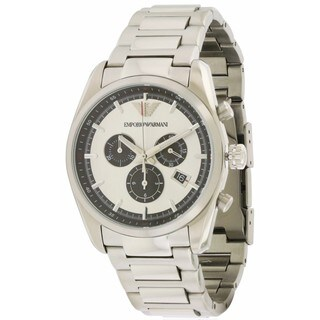 Emporio Armani Men's AR6007 Stainless Steel Chronograph Watch