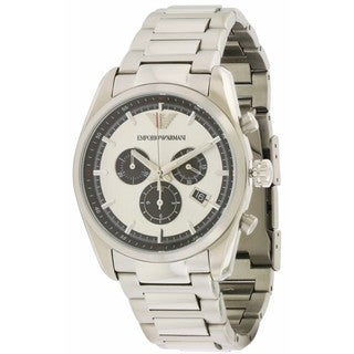 Emporio Armani Men's AR6007 Stainless Steel Chronograph Watch