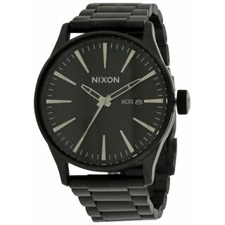 Nixon The Sentry Black Stainless Steel Men's Watch