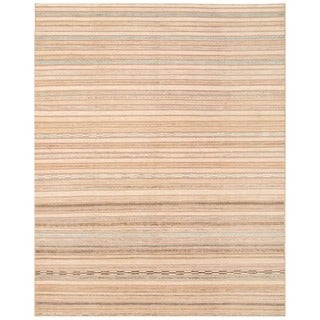 Herat Oriental Afghan Hand-knotted Gabbeh Wool Rug (8' x 10'1)