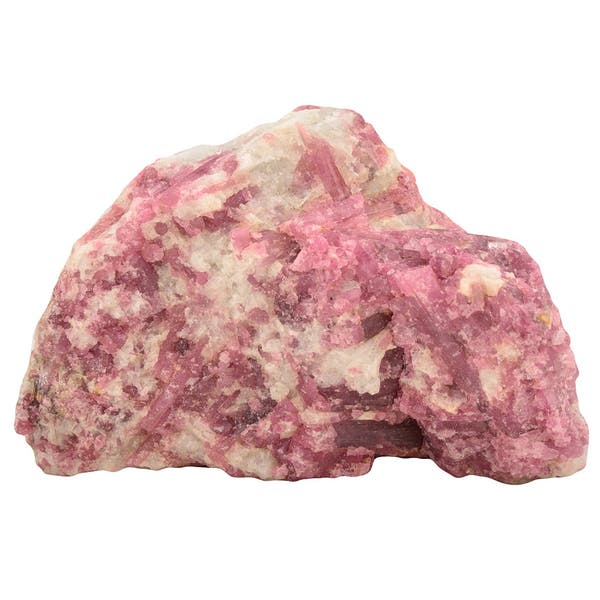 Healing Stones for You Pink Tourmaline in Quartz Rough – PTI – 284 Grams