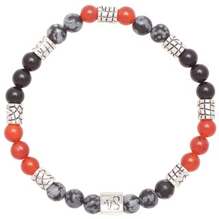 Healing Stones for You Capricorn Zodiac Bracelet Size 7.5 (USA)