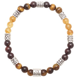 Healing Stones for You Leo Zodiac Bracelet Size 7.5