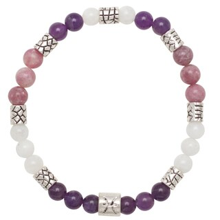 Healing Stones for You Pisces Zodiac Bracelet Size 7.25 (USA)