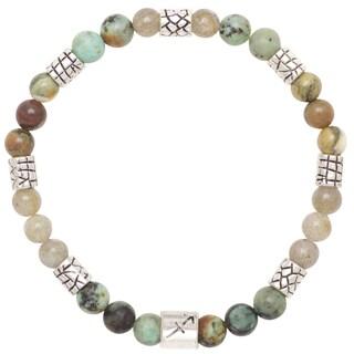 Healing Stones for You Sagittarius Zodiac Bracelet Size 7.75