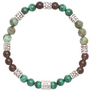 Healing Stones for You Scorpio Zodiac Bracelet Size 7.5