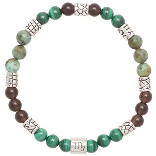 Healing Stones for You Scorpio Zodiac Bracelet Size 7.5 (USA)